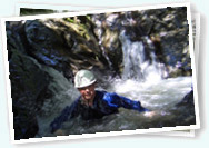 Exhilarating gorge walking